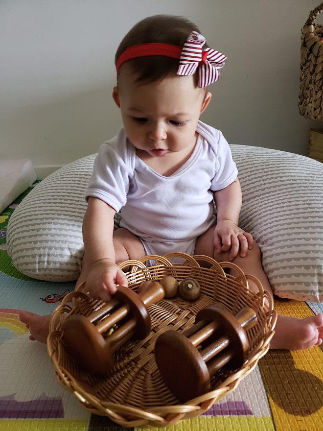 Montessori Para Bebês 6 A 9 Meses Toca Lola